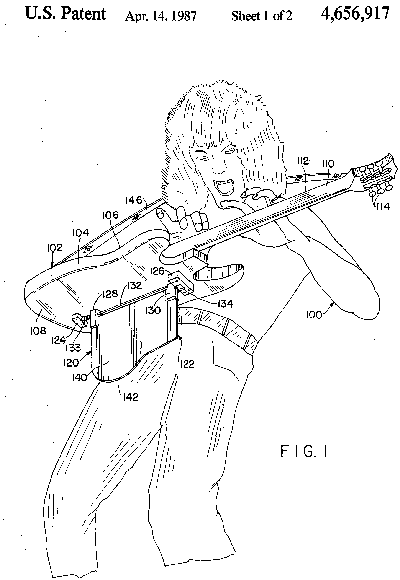 Edward Van Halen Patent
